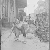 Their first photograph, Chinatown, San Francisco