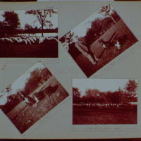 Early years, snapshots, 1896-1898. Prospect Park