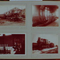 Early years, snapshots, 1896-1898. Railroad scenes II