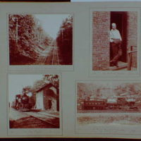 Early years, snapshots, 1896-1898. Railroad scenes VII