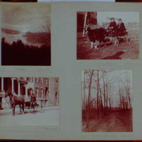 Early years, snapshots, 1896-1898. Portraits and landscapes