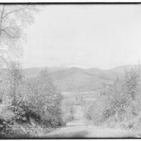 White Mountains Washington Summit Of Mt 1908 Bird/'s Eye View Map Poster