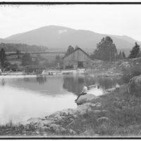 Saranac Lake, Scarface Mountain from Ray Brook, Adirondacks