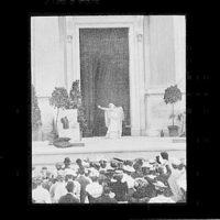 Sarah Bernhardt as Phaedre in the Greek Theatre of Berkeley