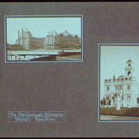 Early years, with images of family, self portraits, landscapes and architectural interiors. Beachfront hotel and Marlborough-Blenheim Young's residence