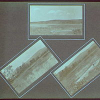 Early years, with images of family, self portraits, landscapes and architectural interiors. Views of Schroon Lake I