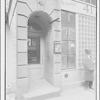 Arnold Genthe's studio at 41 E. 49th St., New York City