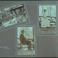 Early years, with images of family, self portraits, landscapes and architectural interiors. Mr. and Mrs. Gottscho, Glen Summit Springs
