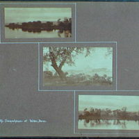 Early years, with images of family, self portraits, landscapes and architectural interiors. Susquehanna at Wilkes-Barre