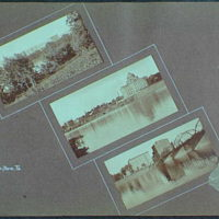 Early years, with images of family, self portraits, landscapes and architectural interiors. Wilkes-Barre, Pennsylvania