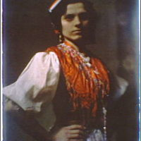 Member of the International Institute for Immigrant Girls, Y.W.C.A., in national costume