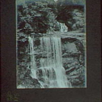 1917-1918, reference prints from negatives. Waterfall III, vertical