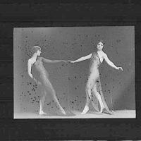 Beatrice Wanger and Marian Berenger dancing
