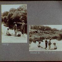 Reference prints, 1919-1920, numbers 2133-2377. Boys fishing, vertical; Boys fishing, horizontal I