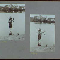 Reference prints, 1919-1920, numbers 2133-2377. Doris Gottscho fishing X