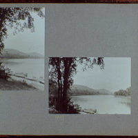 Reference prints, 1919-1920, numbers 2133-2377. Views from bank of river or lake with boats in foreground I