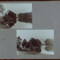 Reference prints, 1919-1920, numbers 2133-2377. Views of river with boat on left bank