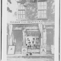 Acacia Mutual Life Insurance Co. Building. Brodt the Hatter shop