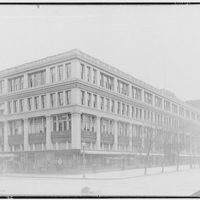 Acacia Mutual Life Insurance Co. Building. Building at 13th and G St. N.W. with Knabe Piano Store and Chesapeake and Potomac Telephome Co. office