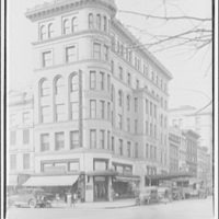 Acacia Mutual Life Insurance Co. Building. Exterior of De Moll Piano Co. at 12th and G St. N.W.