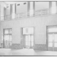 Acacia Mutual Life Insurance Co. Building. View from interior to entrance of Acacia Mutual Life Insurance Co. Building