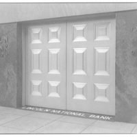 A.F. Jorss Iron Works Inc. Doors of Lincoln National Bank, 17th and H St. N.W. I