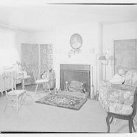 Albert Walker, interiors of home. Living room of Albert Walker