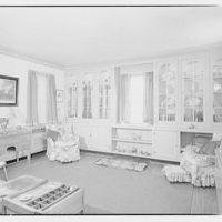 Albert Walker, interiors of home. Recreation room of Albert Walker