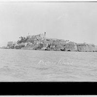 Alcatraz Island in San Francisco Bay. Military prison, Alcatraz Island I