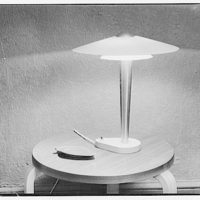 America House, Goodheart furniture store, 2101 K St. Lamp on small table