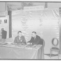 American Photoengravers Association convention. Scherer Rollup Process exhibit