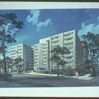 A.R. Clas buildings. Apartment house