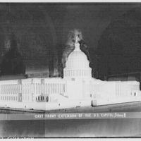Architect of the Capitol. U.S. Capitol model X