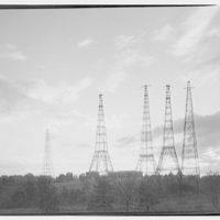 Arlington radio towers. View of Arlington radio towers