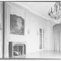 Baker estate. Dining room in Baker house