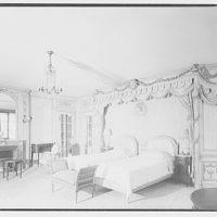 Baker estate. Master bedroom in Baker house