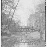 Bridges. Footbridge over Rock Creek