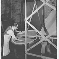 Bureau of Standards. Cone mixer used for mixing standard samples for chemical analysis