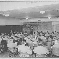 Capitol Radio Engineering Institute. Lecture in classroom at Capitol Radio Engineering Institute