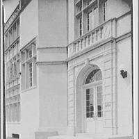 Capitol Radio Engineering Institute. Main entrance of Capitol Radio Engineering Institute