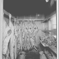 Capitol Radio Engineering Institute. Meat locker at Capitol Radio Engineering Institute