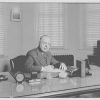 Capitol Radio Engineering Institute. Mr. Ritzkie at his desk VIII