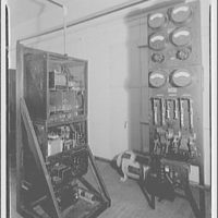 Capitol Radio Engineering Institute. Radio equipment at Capitol Radio Engineering Institute