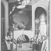Carlton Hotel, Club Bar. Lounge area in Club Bar II