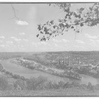 Charleston and Blaine Island, West Virginia. General view of Charleston I