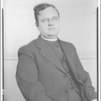 Charlotte Hall Military Academy. Seated clergyman I