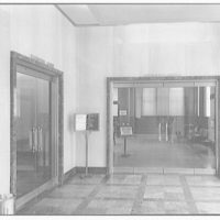 Chesapeake and Potomac Telephone Company. Lobby of the main C&P office building on 13th St., N.W. II