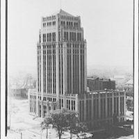 City Hall in Atlanta, Georgia. Exterior view of City Hall, Atlanta