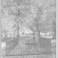 Constantino Brumidi. Brumidi grave lot, Glenwood cemetery