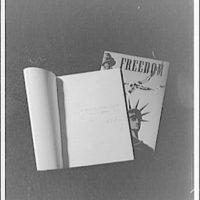 Copies of French and English magazines. Freedom magazine I